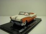 Ford Fairlane open convertible 1956 Mandarin orange/White 1:43 Vitesse 36277